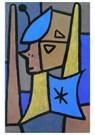 Paul Klee (1879-1940)  -  Matros, 1940 - Postkaart -  A122260-1