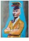 Siegfried Woldhek (1951)  -  Tommy Wieringa - Postkaart -  A12229-1