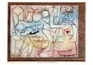 Paul Klee (1879-1940)  -  Old Love Song, 1924 - Postkaart -  A124390-1