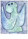 Paul Klee(1879-1940)  -  Listening Angel, 1939 - Postkaart -  A124637-1
