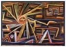 Paul Klee (1879-1940)  -  Radiation and Rotation, 1924 - Postkaart -  A124663-1