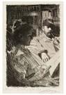 Anders Zorn (1860-1920)  -  Lektyr (Mr. Och Mrs. Ch. Deering) - Postkaart -  A12523-1
