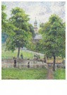Camille Pissarro (1830-1903)  -  Saint Anne's Church in Kew, Londen - Postkaart -  A12862-1