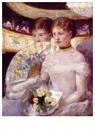 Mary Cassatt (1844-1926)  -  Two Women In A Theater Box - Postkaart -  A12973-1