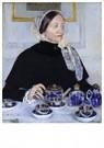 Mary Cassatt (1844-1926)  -  Lady At The Tea Table, 1885 - Postkaart -  A13017-1