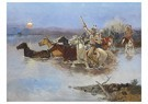Charles Marion Russell(1864-26 -  Crossing The River - Postkaart -  A13356-1