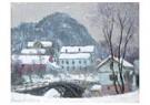 Claude Monet (1840-1926)  -  Sandviken, Norvege, Effet De Neige - Postkaart -  A13383-1