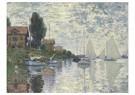 Claude Monet (1840-1926)  -  Au Petit-Gennevilliers - Postkaart -  A13413-1