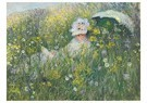 Claude Monet (1840-1926)  -  Dans La Prairie - Postkaart -  A13431-1