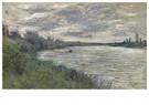 Claude Monet (1840-1926) - La Seine Pres De Vetheuil, Temps Orageux - Postkaart - A13458-1