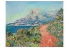 Claude Monet (1840-1926)  -  La Route Rouge Près De Menton - Postkaart -  A13459-1