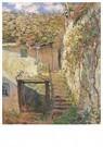 Claude Monet (1840-1926) - L'Escalier - Postkaart - A13476-1