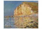 Claude Monet (1840-1926)  -  Marée Basse Aux Petites-Dalles - Postkaart -  A13482-1