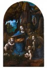 Leonardo da Vinci (1452-1519)  -  Madonna Of The Rocks - Postkaart -  A13523-1