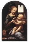 Leonardo da Vinci (1452-1519)  -  Madonna With A Flower, 1478 - Postkaart -  A13563-1
