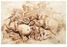Leonardo da Vinci (1452-1519)  -  Battle2 - Postkaart -  A13592-1