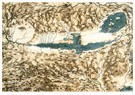 Leonardo da Vinci (1452-1519)  -  Map Of Tuscany And The Chiana Valley - Postkaart -  A13593-1