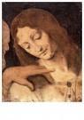 Leonardo da Vinci (1452-1519)  -  Hoofd van St. John de evangelist - Postkaart -  A13595-1