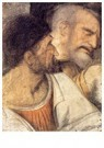 Leonardo da Vinci (1452-1519)  -  Heads Of Judas And Peter - Postkaart -  A13599-1
