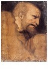 Leonardo da Vinci (1452-1519)  -  Head Of St Peter - Postkaart -  A13600-1
