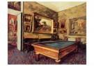 Edgar Degas(1834-1917)  -  The Billiard Room At Menil-Hubert - Postkaart -  A13737-1
