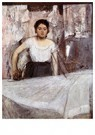 Edgar Degas(1834-1917)  -  Woman Ironing - Postkaart -  A13914-1