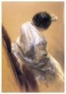 Edgar Degas(1834-1917)  -  Lady With Opera Glasses, 1875-76 - Postkaart -  A13953-1