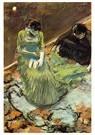 Edgar Degas(1834-1917)  -  Before The Curtain Call 2 - Postkaart -  A13977-1
