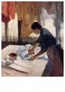 Edgar Degas(1834-1917)  -  Woman Ironing Iv - Postkaart -  A14063-1