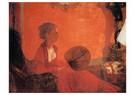 Edgar Degas(1834-1917)  -  Madame Camus At The Piano - Postkaart -  A14066-1