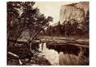 Eadward Muybridge(1830-1904)  -  Cottonwood Bend, Valley Of The Yosemite - Postkaart -  A14207-1