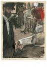 Edgar Degas(1834-1917)  -  Ludovic Halévy Trouve Madame Cardinal Dans Une Loge - Postkaart -  A14310-1
