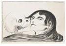 Edvard Munch(1863-1944)  -  Todeskuss (The Kiss Of Death) - Postkaart -  A14414-1