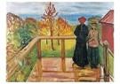 Edvard Munch(1863-1944)  -  Rain - Postkaart -  A14446-1