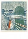 Edvard Munch(1863-1944)  -  The Girls On The Bridge - Postkaart -  A14507-1