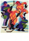 Ernst Ludwig Kirchner(1880-'38 -  Eishockeyspieler (Ice Hockey Players) - Postkaart -  A14706-1