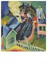 Ernst Ludwig Kirchner(1880-'38 -  Bahnhof Königstein - Postkaart -  A14731-1