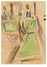 Ernst Ludwig Kirchner(1880-'38 -  Billiard Players - Postkaart -  A14734-1