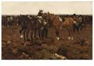 George Hendrik Breitner(1857-  -  Huzaren Op De Hei - Postkaart -  A15317-1