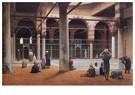 Jean-Léon Gérôme(1824-1904)  -  Interior Of A Mosque, 1870 - Postkaart -  A15430-1