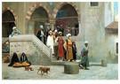 Jean-Léon Gérôme(1824-1904)  -  Leaving The Mosque - Postkaart -  A15447-1