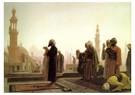 Jean-Léon Gérôme(1824-1904)  -  Prayer In Cairo, 1865 - Postkaart -  A15458-1