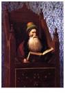 Jean-Léon Gérôme(1824-1904)  -  Mufti Reading In His Prayer Stool - Postkaart -  A15463-1