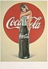 Mel Ramos (1935-2018)  -  Coca-cola - Postkaart -  A1562-1