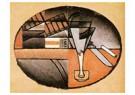 Juan Gris(1887-1927)  -  The Packet Of Cigars - Postkaart -  A15738-1