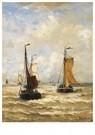 Hendrik W. Mesdag (1831-1915)  -  De Terugkeer Van De Visser - Postkaart -  A16198-1