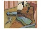 Juan Gris(1887-1927)  -  Le Violon - Postkaart -  A16436-1