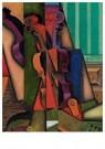 Juan Gris(1887-1927)  -  Violon Et Guitare - Postkaart -  A16461-1