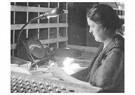 Lewis Hine(1874-1940)  -  Testing Bulbs - Postkaart -  A16647-1