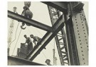 "Lewis Hine(1874-1940)  -  The ""Steel Workers"" Are Always On Top. ""Constructors"" Lay A - Postkaart -  A16653-1"